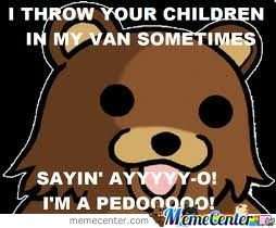 Pedobear Strikes Again