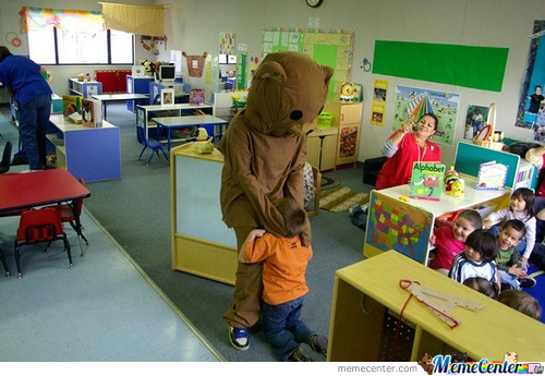 Pedobear Usual Day