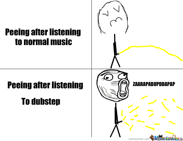 Peeing After Listening To Music