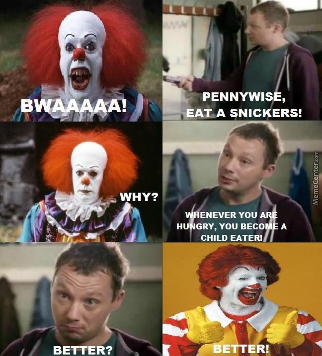 pennywise isn t evil he is only very very hungry_o_6614913 pennywise isn´t evil, he is only very very hungry by