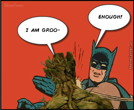 """People Aren't Even Talking About The Rest Of The Movie, Just """"groot, Groot And Groot"""""""