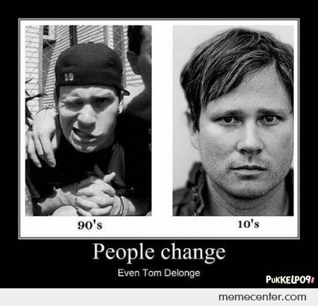 people change