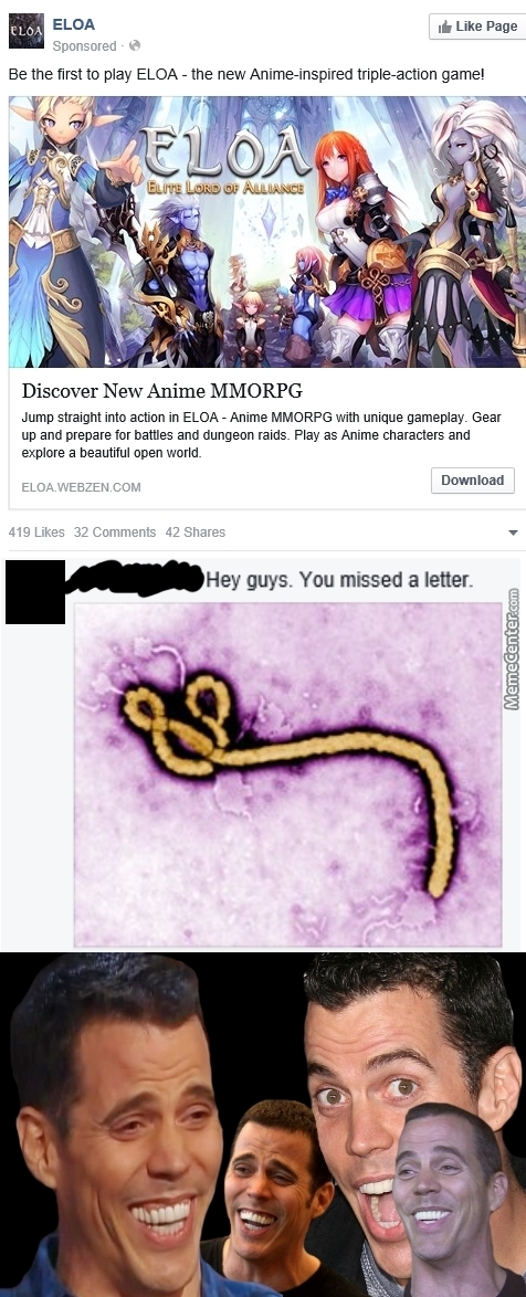 People Said Anime Is Like Cancer But I Haven't Heard Ebola Yet by
