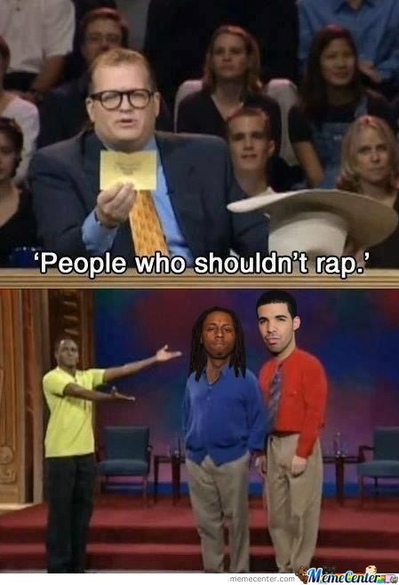 People Who Shouldn't Rap