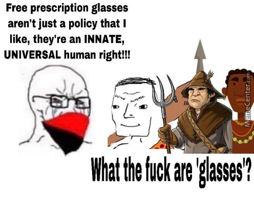 People With Glasses Goes Against The Wall