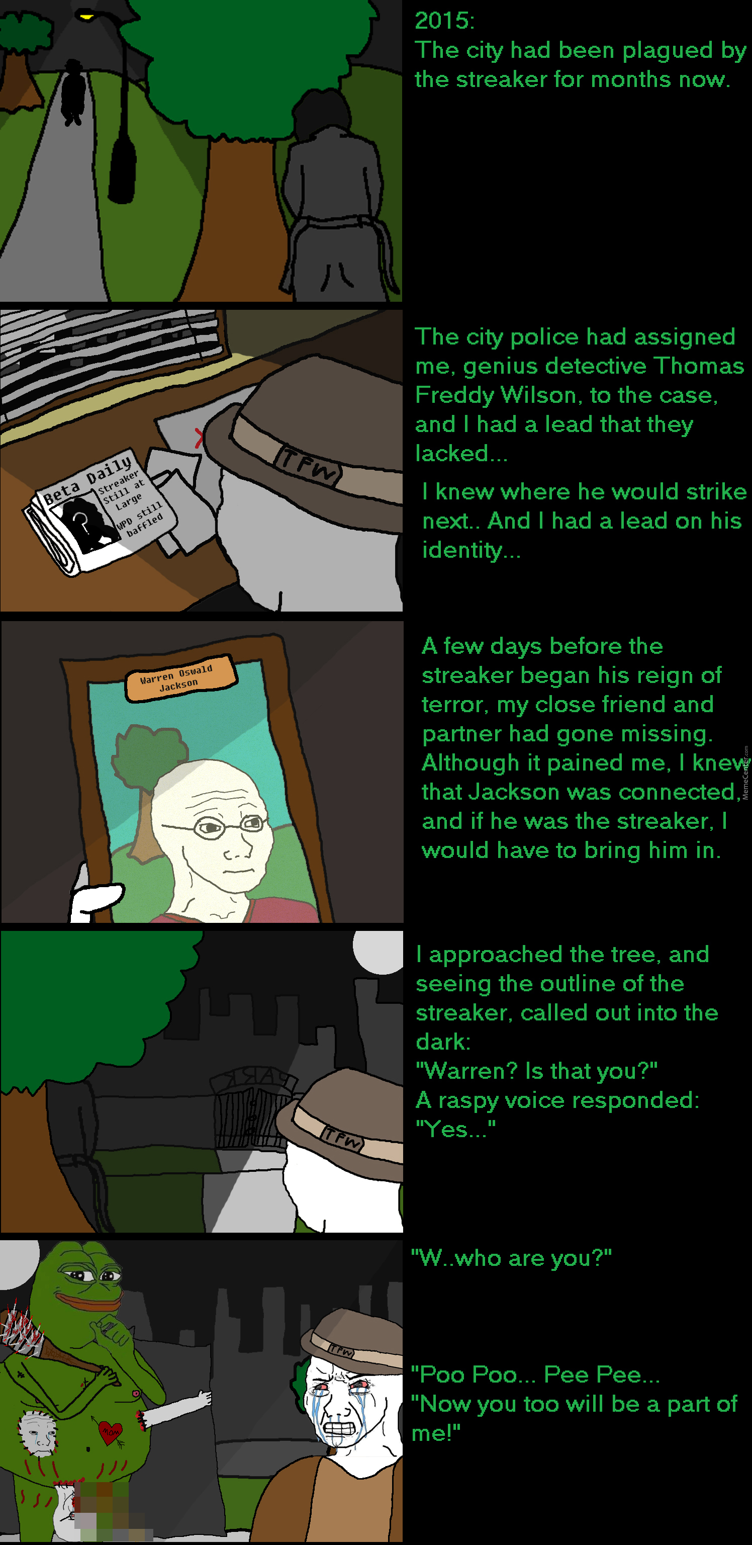 Pepe's Pee Poo: Part Of Me. by mysteryguy - Meme Center
