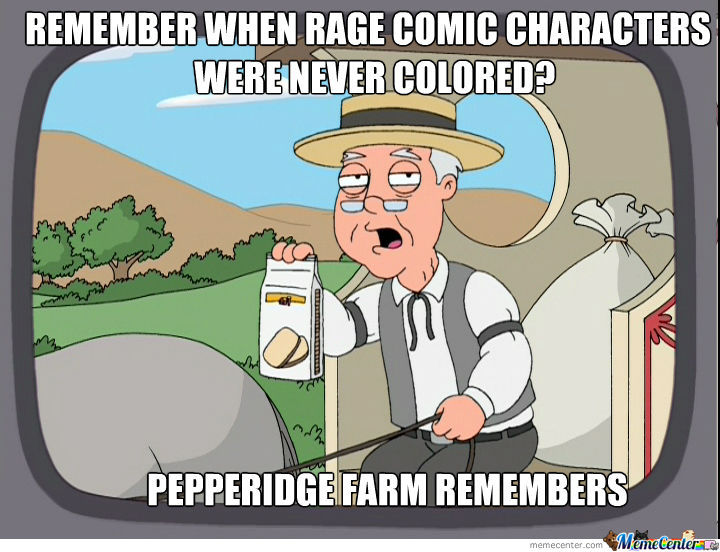 Pepperidge Farm Remembers When The Weren't Colored In