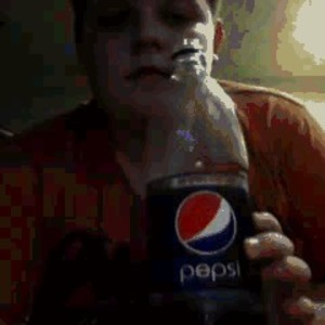 Pepsi Bottle Coca Cola Glass I Don T Give A Damn By