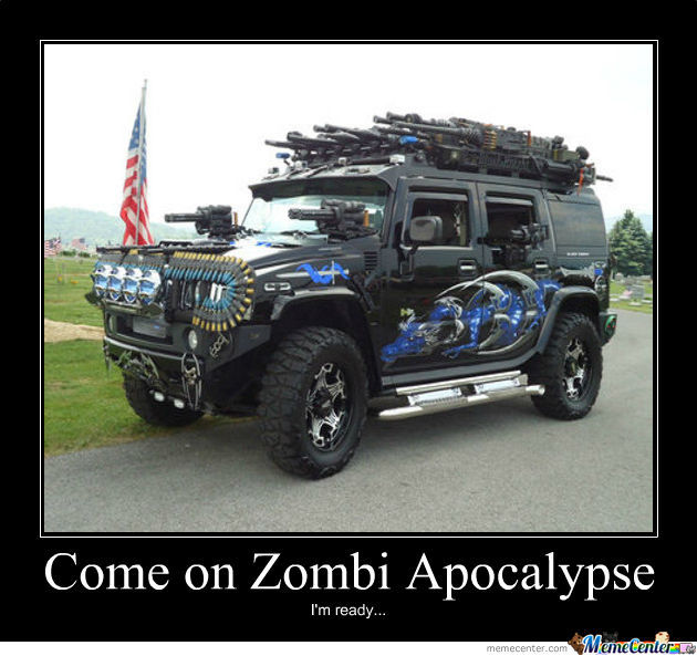 Perfect Car For Zombie Apocalypse
