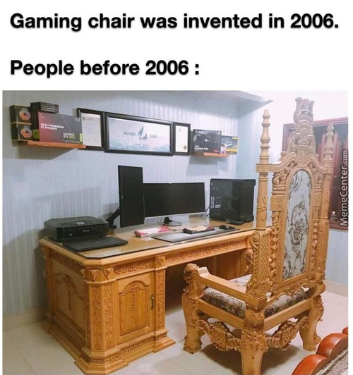 Perfect Chair Doesn't Exi-...