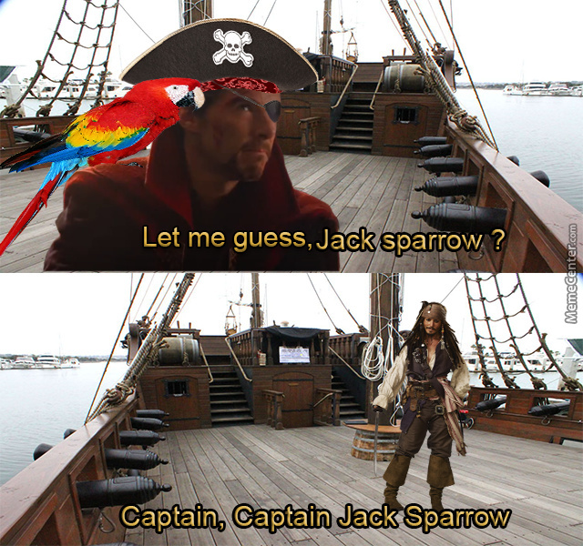 Perhaps You Remember A Certain Pirate Named Jack Sparrow