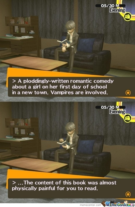 Persona 4 About Twilight!
