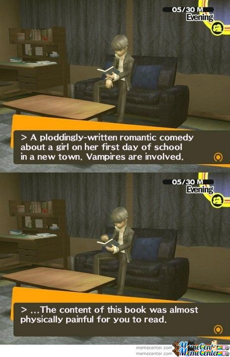 Persona 4 About Twilight