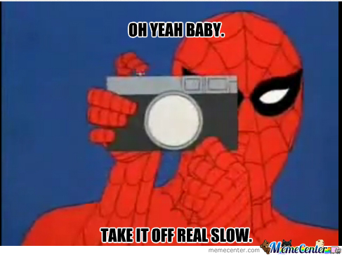Pervy Spiderman
