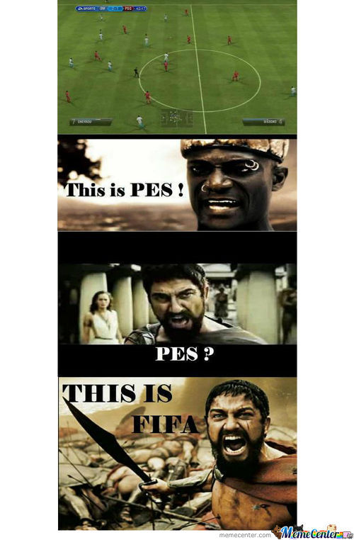 Pes ?!! This Is Fifa