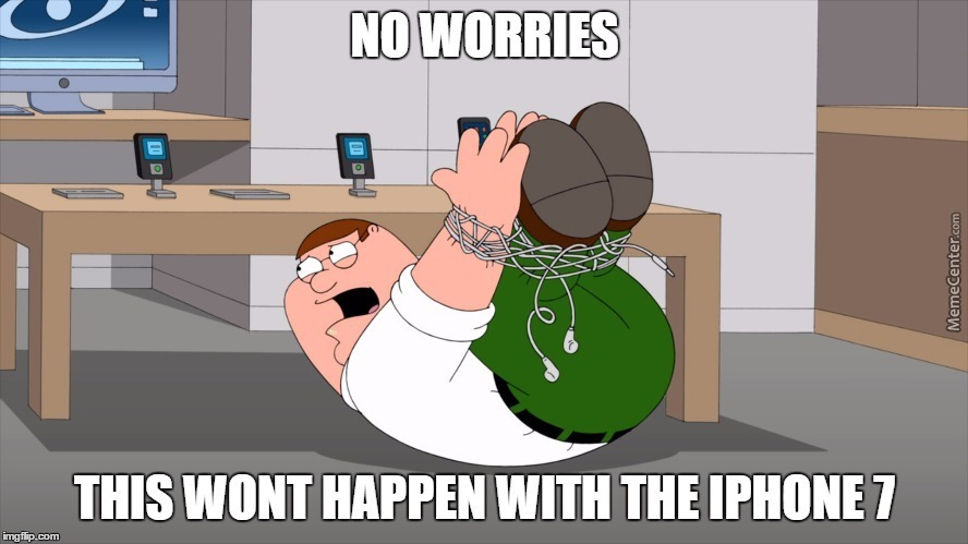 Peter Griffin Appreciates The New Iphone7, Thanks Apple!