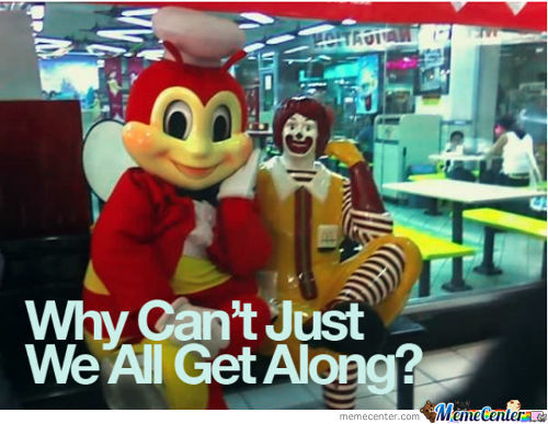 Philippine Fast Food Rivalry