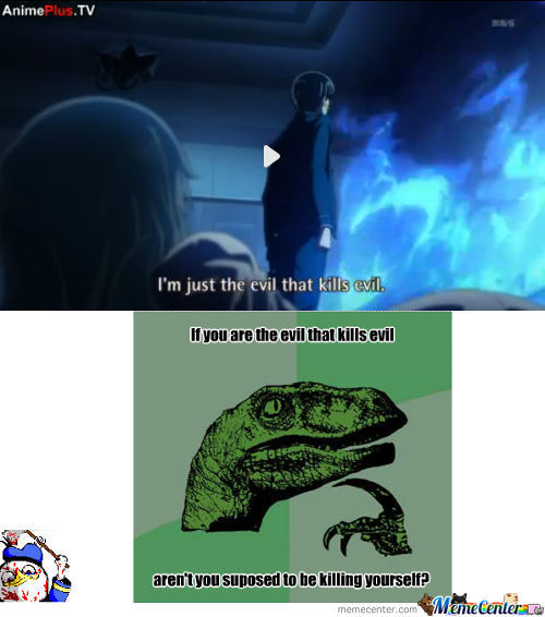 Philosoraptor Loves Anime..