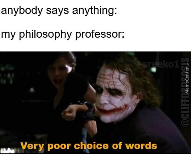 Philprofs Be Like