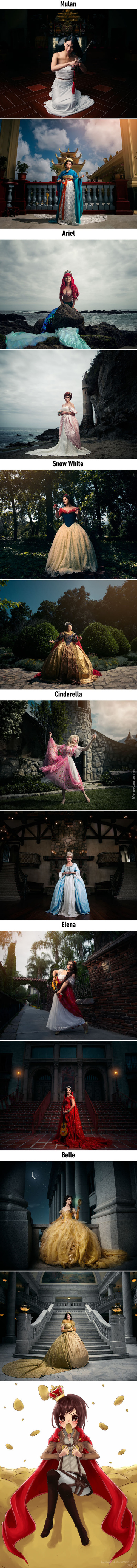Photo Shoots Reimagine Disney Princesses As Future Queens