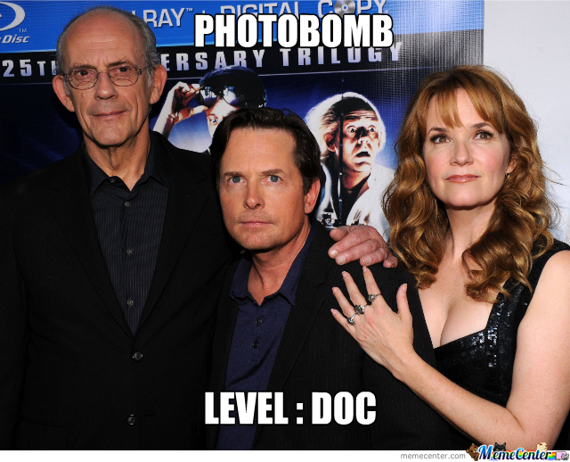 Photobomb : Back To The Future