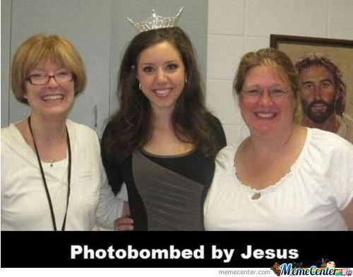 Photobomb Level: Jesus