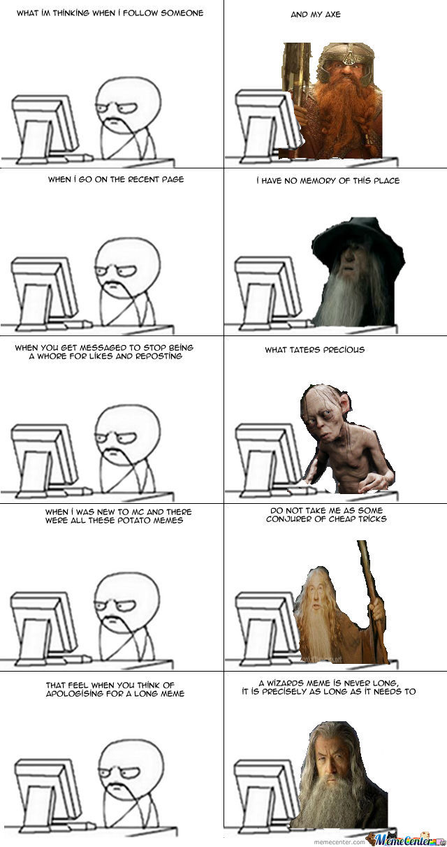 Memecenter Feelings: LOTR