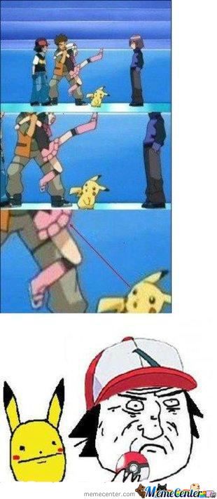 Pikachu's Eyes Are On The Prize