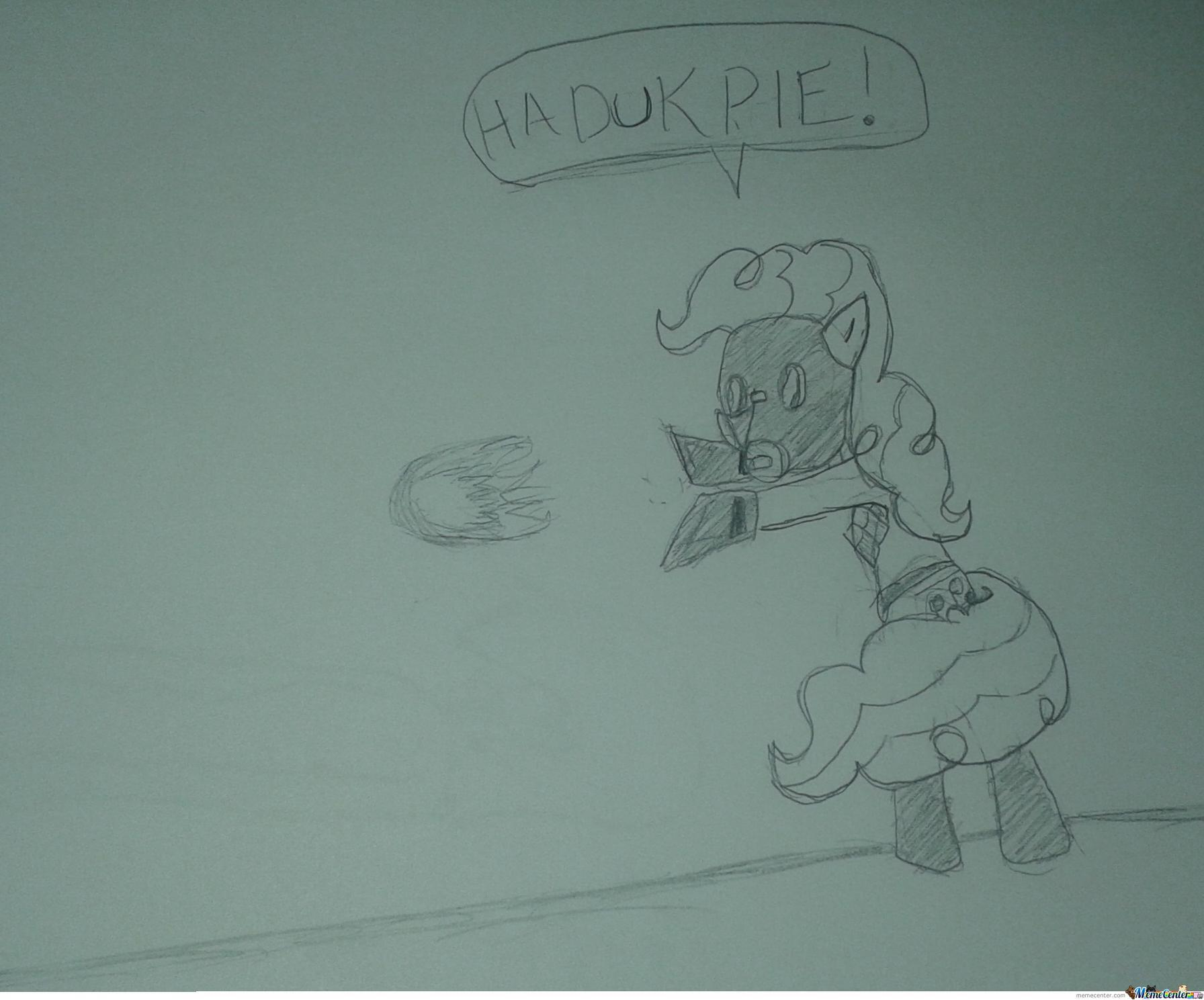Pinkie Pyro, Also Known As What I Drew Instead Of Doing My Maths ...