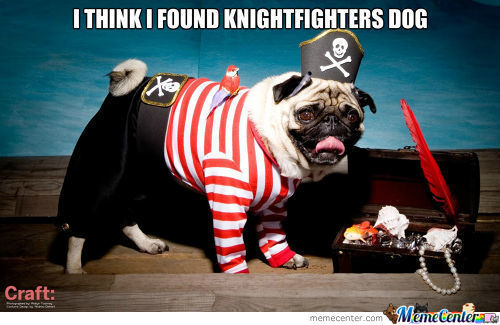 Pirate Pugs Are Notorious Torrenters