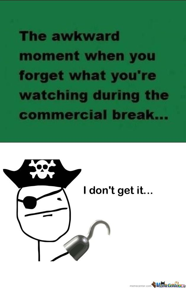 Pirates Can't Understand This