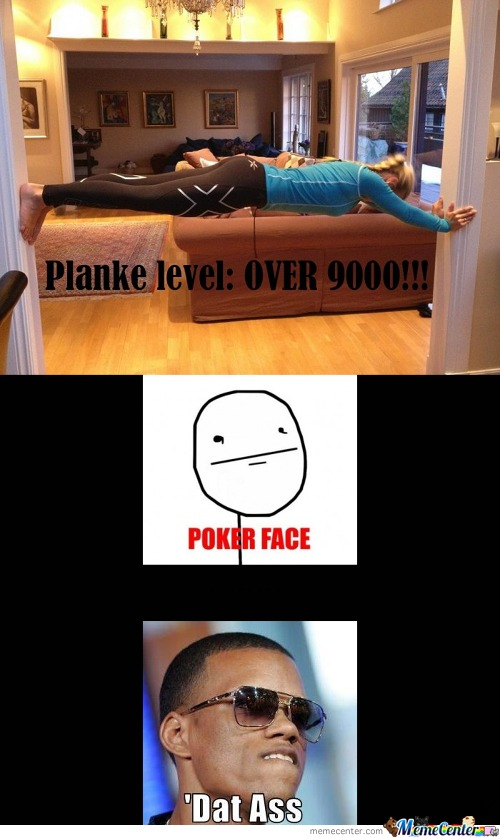 Planking Level Over 9000