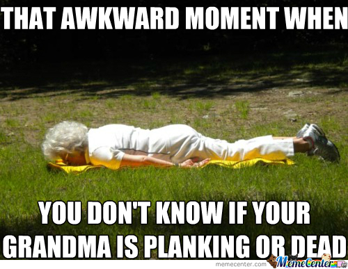 Planking Or Dead?