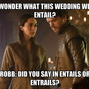 What Season Is The Red Wedding.Planning The Red Wedding By Nokash Meme Center