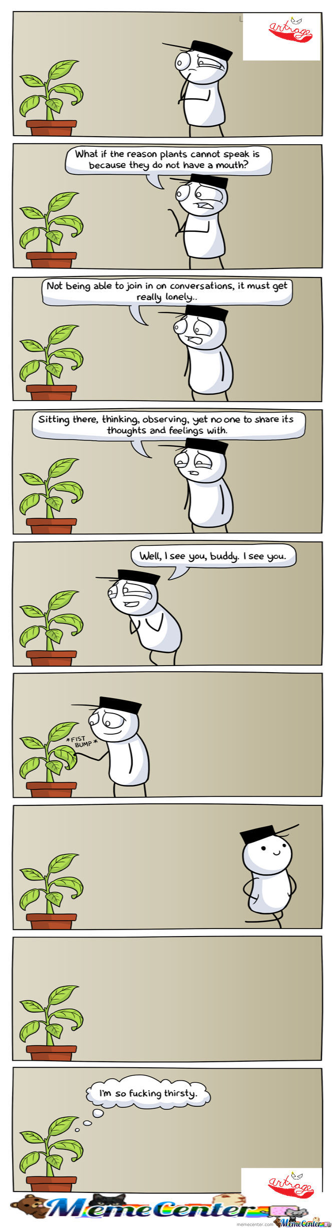Plants Are Quiet