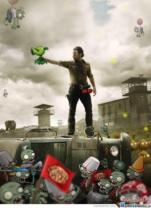 Plants Vs Zombies!