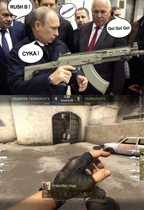 Play Cs Go With Russian Friends Everytime