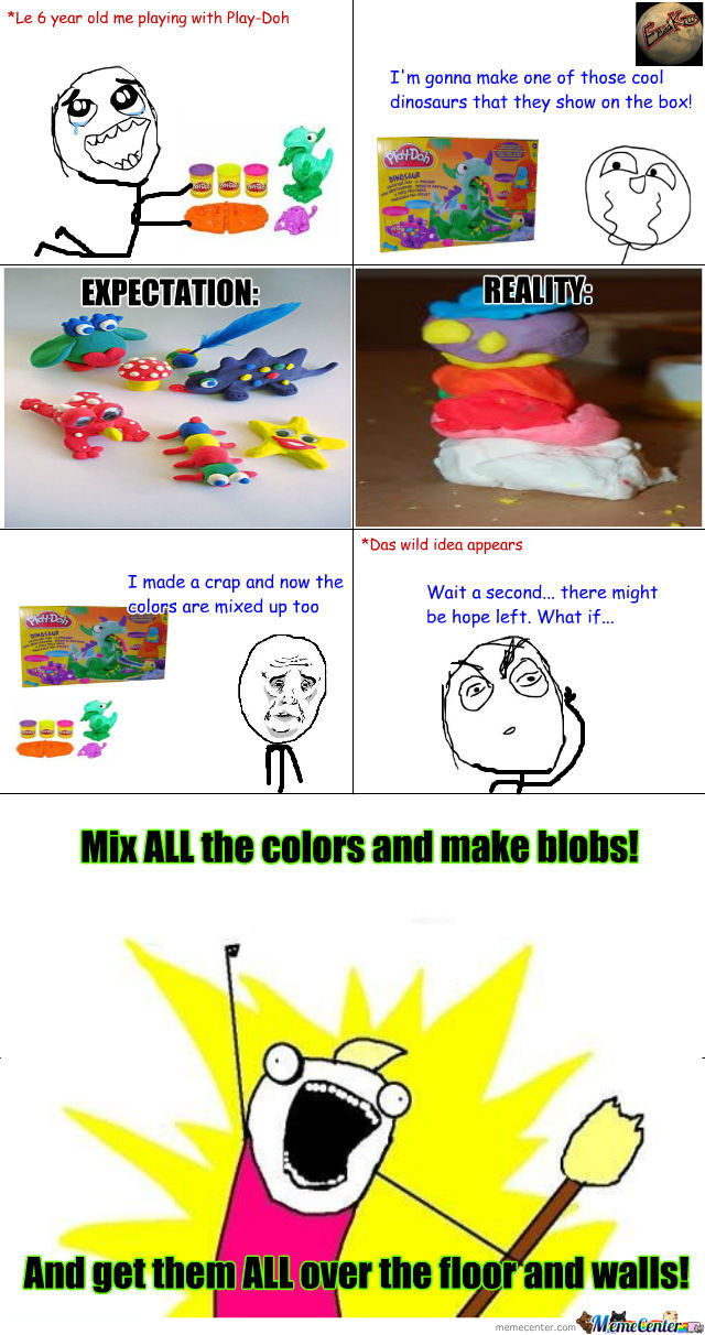 Play-Doh And Their Tricks