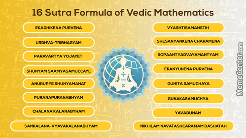 Play Game Of The Maths With Vedic Maths Sutra, Learn Online Tuition