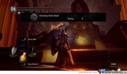 Playing Dark Souls When Suddenly...