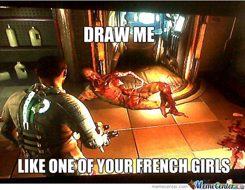 Playing Dead Space 2...