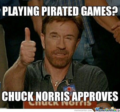 Playing Pirated Games?