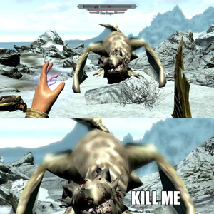 Playing Skyrim On Low Graphics by bakoahmed - Meme Center