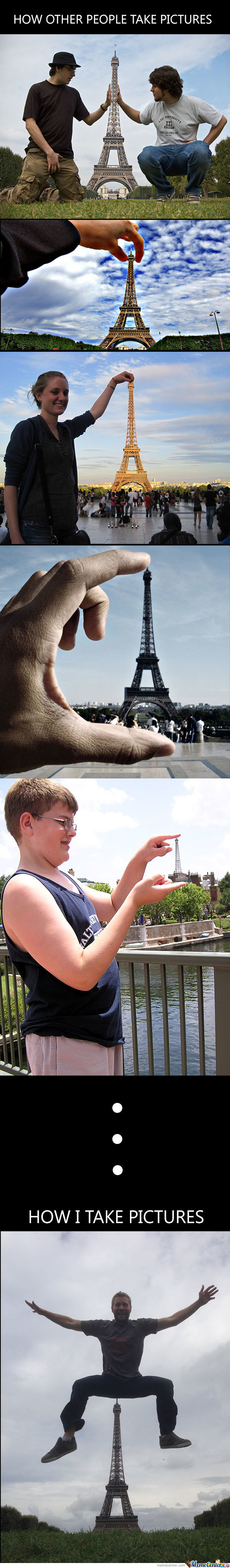 Playing With Eiffel Tower