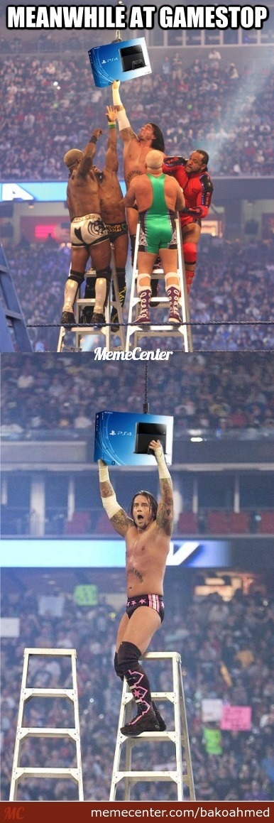 Playstation 4 Ladder Match