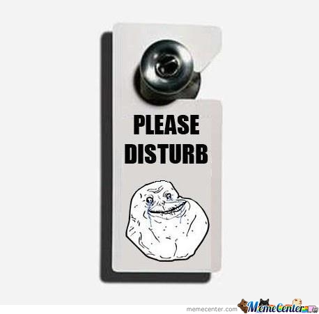 Please Disturb
