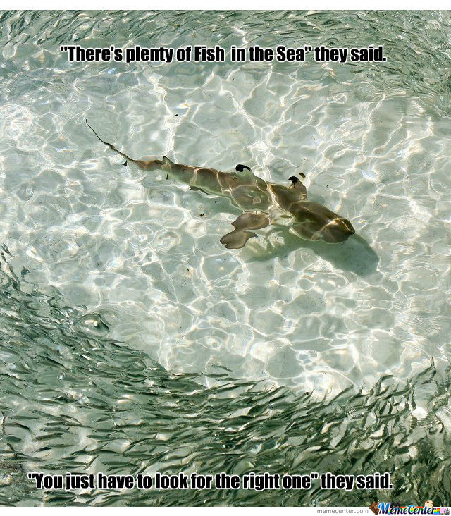 Plenty of fish in the sea by tomsupreme meme center for Pleny of fish