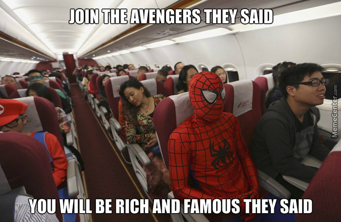 plot twist uncle ben died in 9 11 when spider man couldt stop the terrorists from crashing the plane_o_4812919 plot twist uncle ben died in 9 11 when spider man could`t stop,Airplane Funny Spider Man Memes