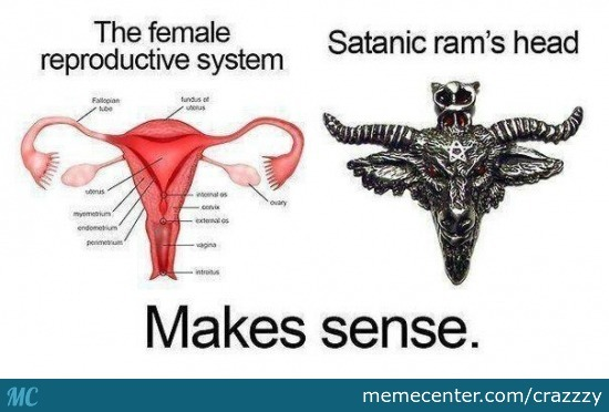 Pms For The Glory Of Satan!