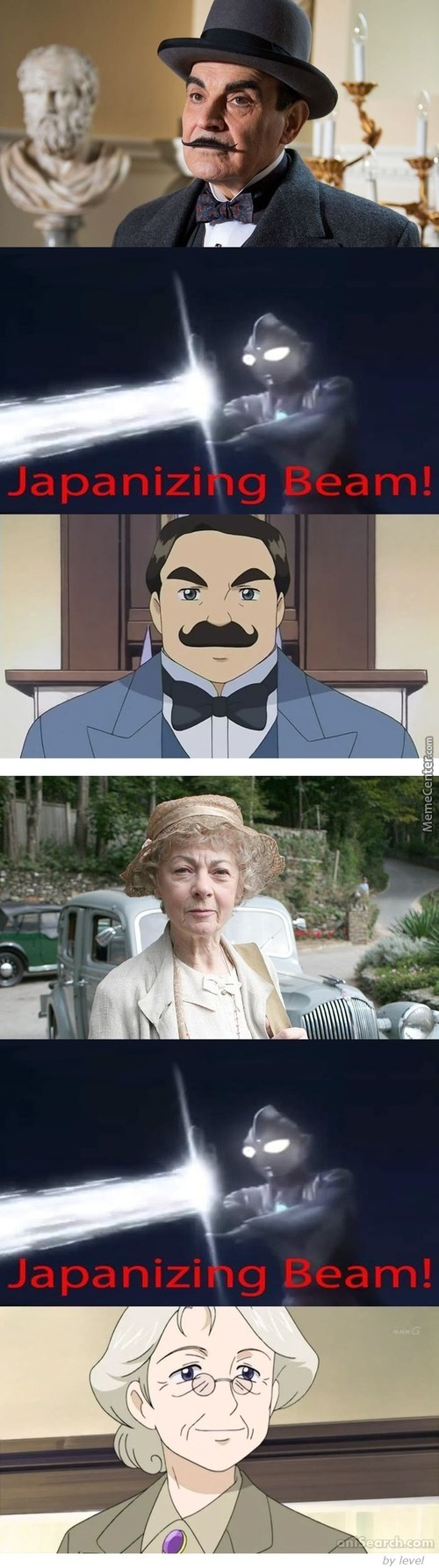 Poirot And Miss Marple In Japan (∩_∩)
